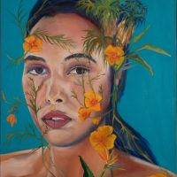 Bloom and Grow Painting Jessica Taylor Bellamy