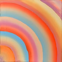 Brushstroke Series 2021, Rainbow #3 Painting Laura Stöckl