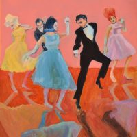 Dancing with a Salmon Wall Lynn Stein