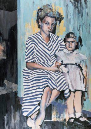 Feminine Mystique Painting by Lizzie Wortham