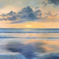 Mirror of Heaven Painting Caesiliae Fine Art