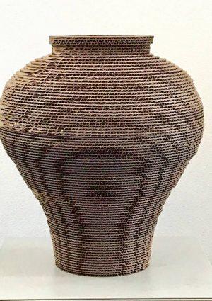 Moon Jar Sculpture by Sean Lim