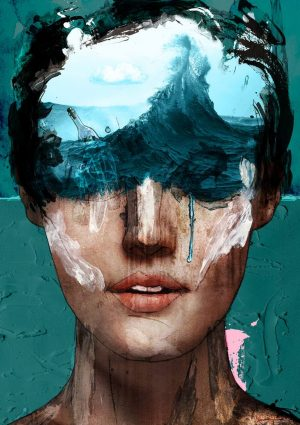 Wavey - Limited Edition of 1 Artwork by Sait Mingu