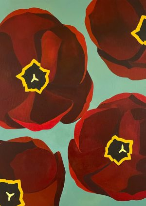Yoojin Shin_Red Tulips (2020)