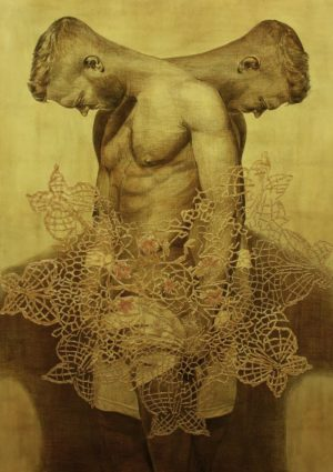 abby masoumi - 90x70cm untitled