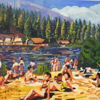lake scene Stephen Abela